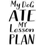 my dog ate lesson plan