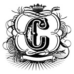 flourish c monogram