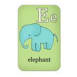 alphabet playing cards - e