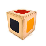 dice color panel 3d blocks