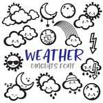 weather dingbat font