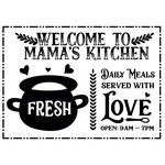 welcome to mama's kitchen
