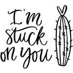 im stuck on you cactus