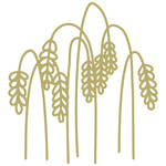 wheat stalks papercut