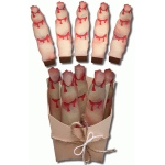 3d zombie finger treat box