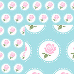 shabby chic paper collection