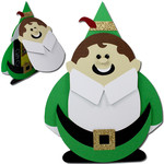 elf flip top gift card holder