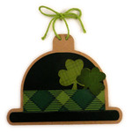 leprechaun hat ornament