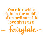 love gives us a fairytale