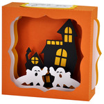haunted house gift card box ornament
