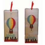 hot air balloon card slider