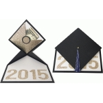 2015 graduation hat card