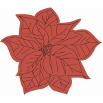 sketch poinsettia