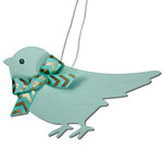 stitched bird hanging decoration