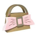 bag with ribbon