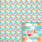 summer love background paper