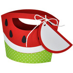 watermelon tote with tag