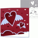 love is in the air - card