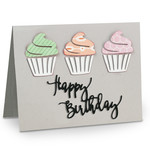 a2 cup cake card