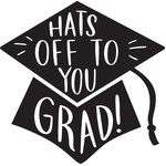 hats of to you grad cap