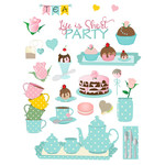 afternoon party planner stickers