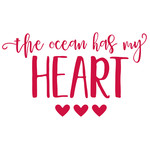 the ocean has my heart