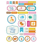 ml baby animals stickers