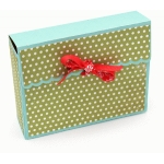 bendy card box scalloped
