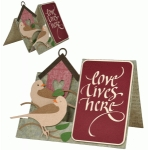 love lives here step card