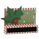 holly candy & gift card holder