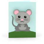 bobble head card mouse