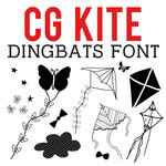 cg kite dingbats