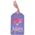 mother's day gift card pocket tag