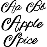 apple spice font