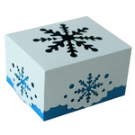 snowflake box with lid