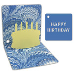 birthday pop-up gift tag