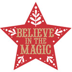 nordic believe the magic christmas ornament