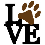 stacked love - paw phrase