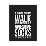 awesome socks tag/card