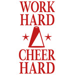 work hard cheer hard
