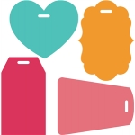 4 luggage tags