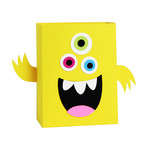 monster bag box - yellow