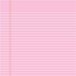 pink notebook paper