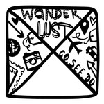 wanderlust photo frame