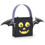 halloween bat treat bag