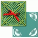 card wrap set: lattice lace