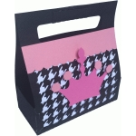 crown and houndstooth gift box