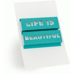3d word art- life is beautiful