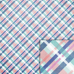 plaid background paper