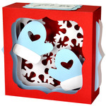 winter mittens gift card box